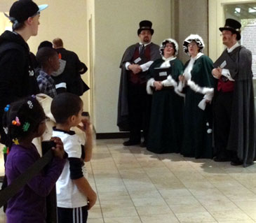 Caroling Company at Rosedale Center Mall, MN