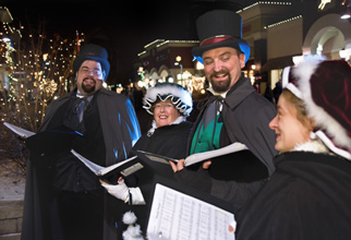 Caroling Company at Woodbury Lakes Holiday Open House